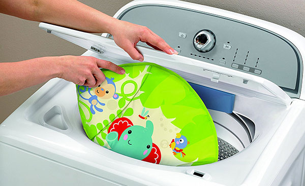 housse lavable transat fisher price deluxe